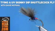 Glasgow Angling Centre on Twitter: By combining a slim, quick-sinking  abdomen with a dense plume of CDC Feather, the Shuttlecock imitates  brilliantly, a hatching Midge Pupa. Learn to tie the UV Skinny